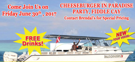 Cheeseburger in Paradise Party
