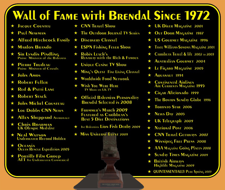 Brendal's Wall of Fame