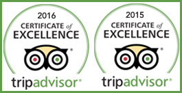 Rated Excellent by TripAdvisor Travelers